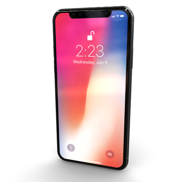 3D-review of Apple iPhone X Silver