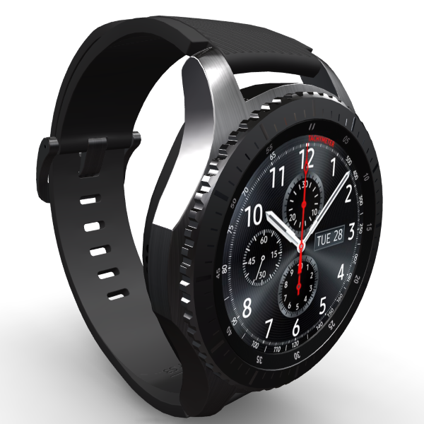 3D-review of Samsung Gear S3 Frontier